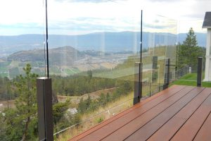 12mm Topless Glass Railing Installation