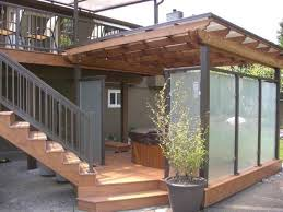 Pergola Covers Deck
