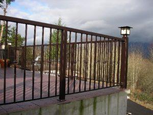 Aluminum Railing Installation