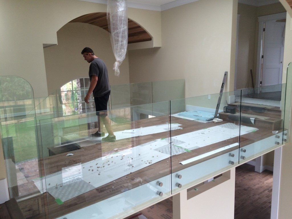 Vancouver Seamless Frameless Glass Railing Installations