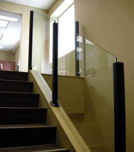 Interior Glass Railings Installation