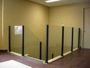 Interior Glass Railings Installations