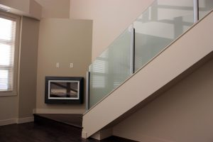 Vancouver Interior Glass Railing Installation