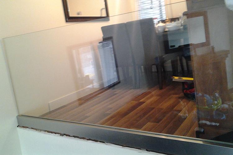 Interior Glass Railing Installations