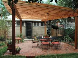 Pergola Covers Sitting Area