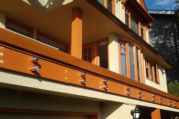 Seamless Frameless Railing Glass Installation Vancouver