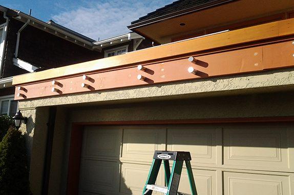 Vancouver Seamless Frameless Railing Glass Installation Deck