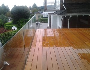 Vancouver Seamless Frameless Railing Glass Installations