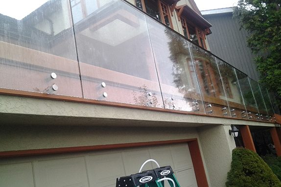 Seamless Frameless Railing Glass Installations Vancouver