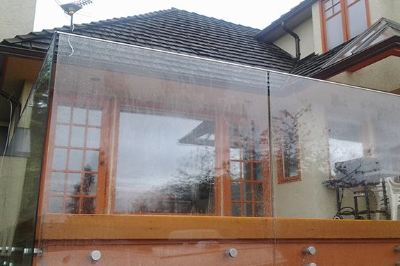 Seamless Frameless Railing Glass Installation Vancouver