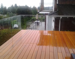 Seamless Frameless Railing Glass Installation for Decks Vancouver