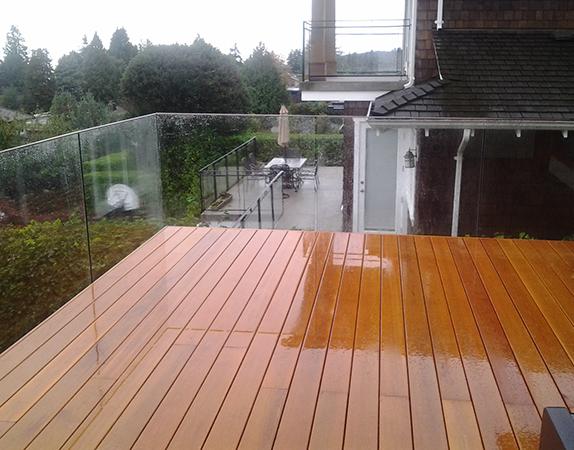 Vancouver Seamless Frameless Glass Railing   Installations ...